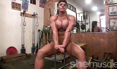 热裸黑青少年女童的大肌肉,性感的健身房的屁股