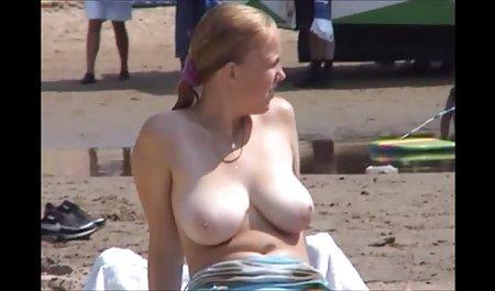 格兰*今原阴茎隆海滩的胸部免费名人色情/双胞胎